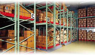 Refrigeration Warehouse of Products